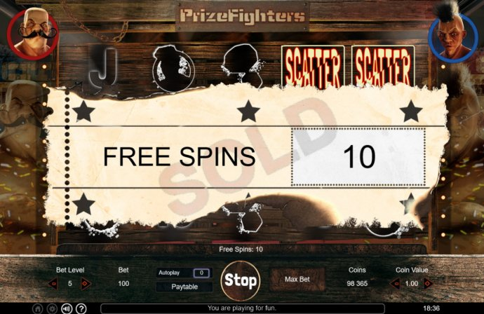 Prize Fighters by No Deposit Casino Guide