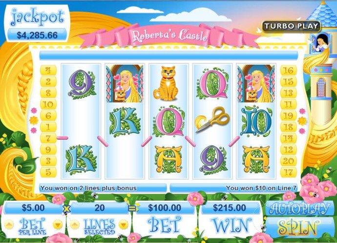 No Deposit Casino Guide image of Roberta's Castle