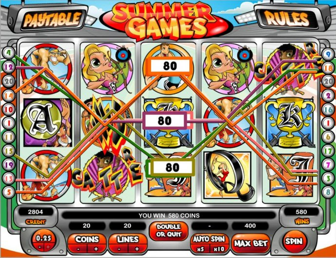 Summer Games by No Deposit Casino Guide