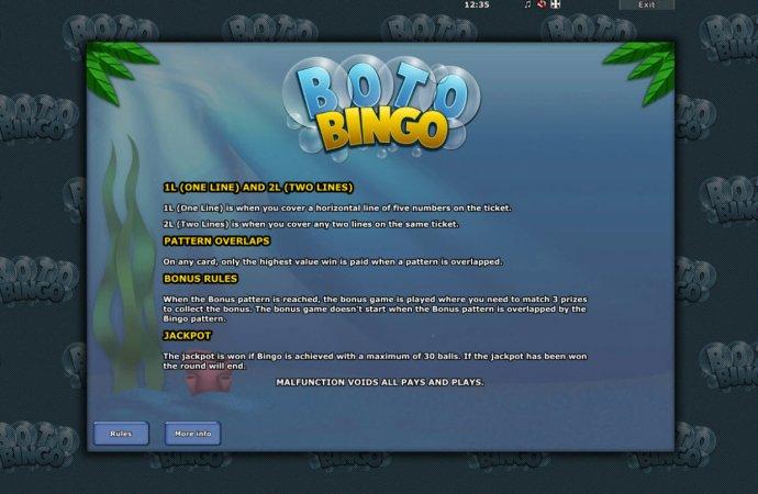 Boto Bingo by No Deposit Casino Guide