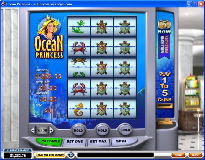 No Deposit Casino Guide image of Ocean Princess